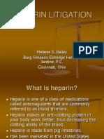 Heparin Litigation