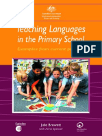 Teaching Languages