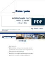 Sistema de Integridad de Ductos - A. Cabello.rev.22.01.2014