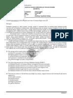 Soal Bahasa Inggris Snmptn 2009 Kode 383