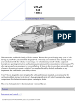 Volvo 940_1994 Owners Manual