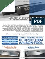 Wilson Tool v Series Black Press Brake Dies - Prismele de abkant V Series Black