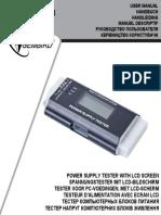 184108192 Tester Sursa Gembird Chm 03 Manual