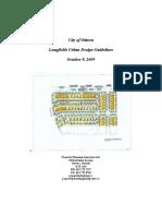 Longfields Urban Design Guidelines 9 Oct 2009