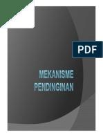 materi mekanisme-pendinginan dalam bentuk pdf