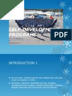 Self Development Programs