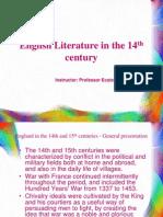 English Literature in the 14th Century