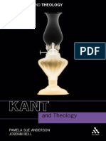 Kant and Theology (Continuum 2010) - Anderson and Bell