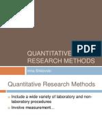Quant Methods