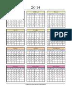 calendario2014