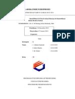 Evaluasi Kinerja Sel Immobilisasi Dalam Reaktor Kolom Dan Immobilisasi Sel