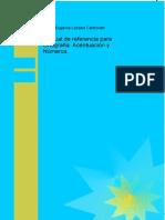Manual de Referencia Para Ortografia Acentuacion y Numeros