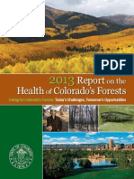 Colorado 2013 Forest Health Report