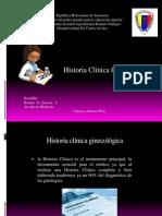 Historia Clínica Ginecológica