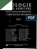 Teste Biologie Bucuresti 2012