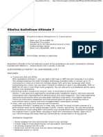 Sibelius AudioScore Ultimate 7 _ Avid _ Products _ - Discounted Software for Education Establishments