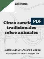 Tradicional. Cinco canciones tradicionales sobre animales.pdf