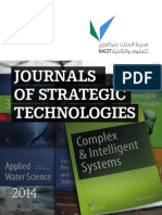 JOURNALS OF STRATEGIC TECHNOLOGIES