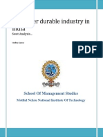 49620972 Consumer Durable Industry in India