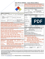 Msds - Asam Nitrat (Hno3)