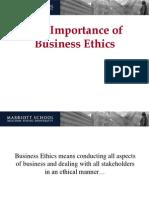 Importance Business Ethics i