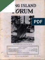 Long Island Forum, Vol. XVII, Issue 7