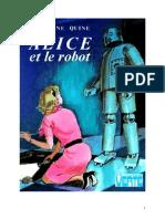 Caroline Quine Alice Roy 49 BV Alice Et Le Robot 1971