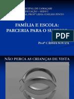 Palestra - Família -  outubro 2013 - 1