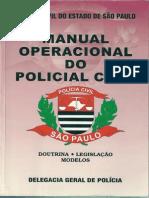 Manual Operacional Do Policial Civil SP