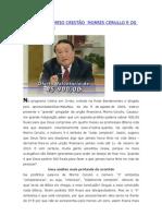 HERESIAS NO MEIO CRISTÃO  MORRIS CERULLO E OS 900 REAIS