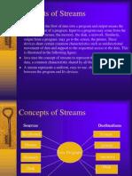 Concepts of Streams