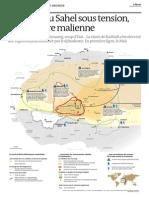Carte Sahel Le Monde