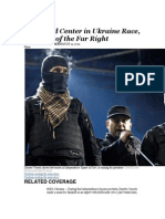 Front and Center in Ukraine Race