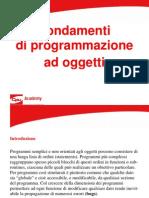 Fondamenti Di Programmazione Ad Oggetti