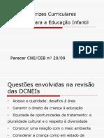 novas diretrizes curriculares educação infantil