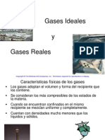Termo I-14 - Gases Ideales y Reales