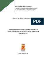 Redes Sociais como um suporte a inovação no pólo de confecção do agreste de pernambuco- UPE