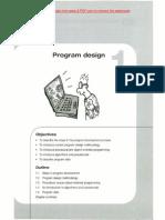 Ch # 1 - Program Design!