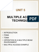 Unit 5 Multiple Access Technique