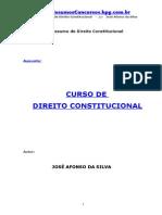 APOSTILA - Direito Constitucional - Prof. José Afonso da Silva