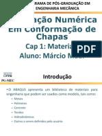 CAP 1 - Materiais