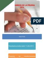 cambios de la prueba saber 2014