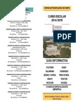 GUÍA CHESTE 2014-2015