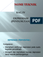 BAB IV Depresiasi Ekotek
