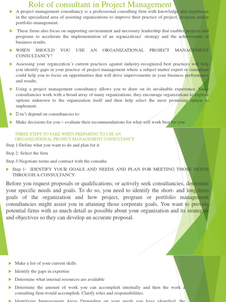 Role of consultant in project management project management role of consultant in project management project management strategic management 1betcityfo Gallery