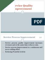 Service Quality Improvement