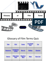 glossary of film terms game