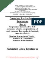 Programme ST2 GE