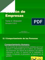 Presentación Tema 5