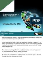 CFX Intro 12.0 WS2 Airfoil